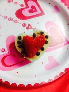 apple heart snack