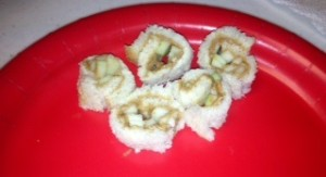 apple sushi